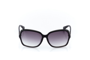 Women Full Frame Plastic  Christian of Paris: 17-06 Black & Gunmetal w/ Black Gradient Tint 2008689