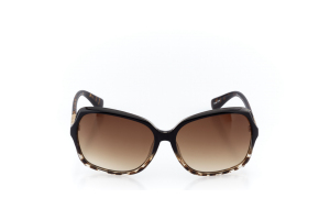 Men Full Frame Plastic  Christian of Paris: 17-06 Faded Tortoise & Gold w/ Brown Gradient Tint 2008687