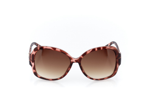 Women Full Frame Plastic  Christian of Paris: 17-07 Pink Tortoise 2008692