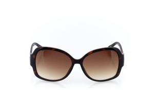 Men Full Frame Plastic  Christian of Paris: 17-07 Tortoise & Brown w/ Brown Gradient Tint 2008691