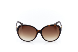 Men Full Frame Plastic  Christian of Paris: 17-08 Tortoise & Gold & Brown w/ Brown Gradient Tint 2008694