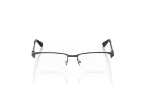 Men Semi Rimless Metal  DNL: M01 Gunmetal & Black 2008147