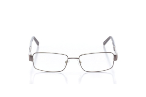 Men Full Frame Metal  Elite: 16-13 Silver Gunmetal 2006073