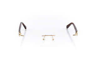 Men Rimless Technology  Elite: 16-122 Gold & Tortoise 2007650