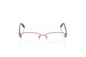 Women Semi Rimless Metal  Elite: 16-26 Bronze & Brown 2006047
