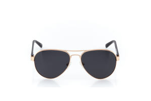 Men Full Frame Metal  EMPIRE: 16-47 Matte Rose Gold & Black w/ Black Tint 2008220