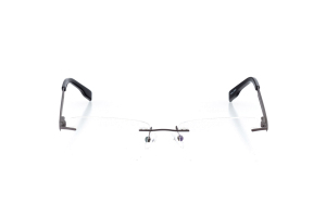 Men Rimless Technology  Impression: 15-15 Matte Gunmetal & Black 2002154