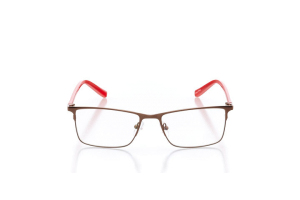 Women Full Frame Metal  Impression: 16-19 Brown & Red 2005141