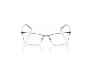 Women Full Frame Metal  Impression: 16-19 Silver & Powder Pink 2005139