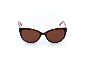 Women Full Frame Plastic  Impression: 16-36 Tortoise & Currant Red & Gold w/ Brown Tint 2007839