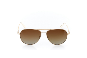 Women Full Frame Metal  Impression: 16-37 Gold & Ivory w/ Brown Gradient Tint 2007840