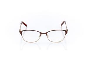 Women Full Frame Metal  Impression: 16-39 Matte Brown & Gold 2007893
