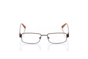 Men Full Frame Metal  Leo: 16-08 Brown & Tan 2005686