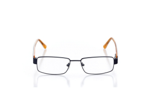 Men Full Frame Metal  Leo: 16-08 Navy & Orange 2005687