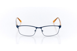 Men Full Frame Metal  Maxim: 16-16 Navy & Orange 2005543