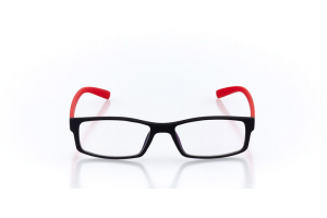 Men Full Frame Plastic  Maxim: 16-55 Black & Red 2007384