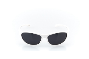 Men Full Frame Plastic  MAXIM: 16-74 White & Silver w/ Black Tint 2008190