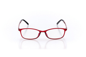 Women Full Frame Plastic  Maxim: 16-05 Transparent Red 2005496