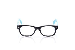 Men Full Frame Plastic  Maxim: 16-01 Black & Sky Blue 2006988