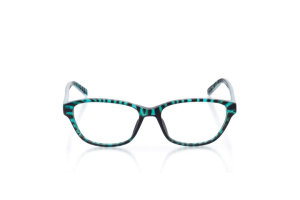 Women Full Frame Plastic  Milan: 16-46 Marbled Teal 2006809