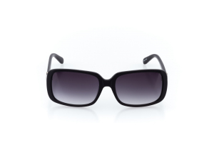 Women Full Frame Plastic  Prince & Channel: 17-02 Black & Gunmetal w/ Black Gradient Tint 2011317