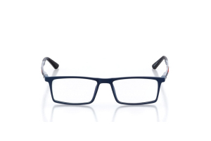 Women Full Frame Plastic  Swiss: 16-08 Navy Blue & Red 2005330