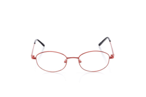 Women Full Frame Metal  VC: W02 Red & Black 2003825