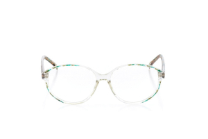 Women Full Frame Plastic  VC: W06 Clear & Green 2003833