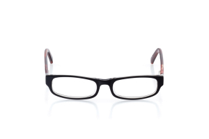 Men Full Frame Plastic  Y13: 16-09 Black & Clear & Clear Currant Red 2006185