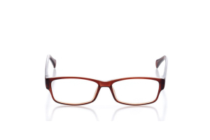 Men Full Frame Plastic  Aura: 16-60 Brown 2006560